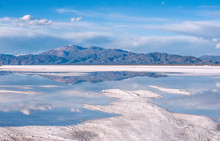 Salinas Grandes On Argentina Andes Is A Salt Desert In The Jujuy