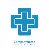 Medical logo icon vector