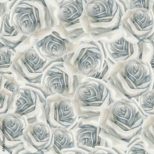 akwarela-bialej-rozy-wzor