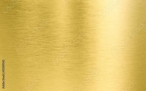 Türaufkleber Metall gold metal texture