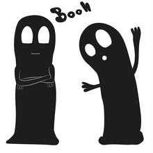 Cartoon Gespenster