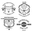 Emblem bodybuilding.