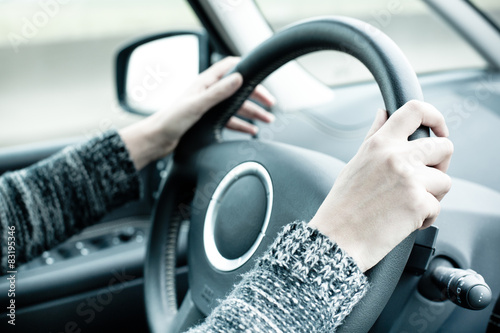 Fotografie, Obraz  conduire conduite permis