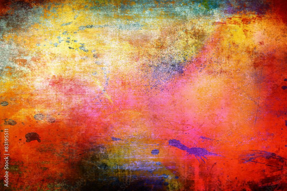 sfondo arcobaleno vintage