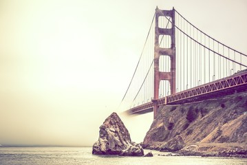 Fototapeta Mosty Golden Gate in Fog