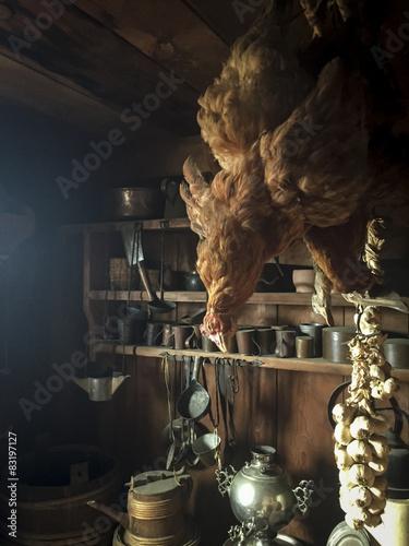 Photographie  Inside old kitchen