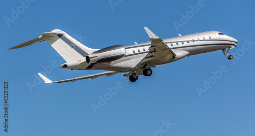 Bombardier Global 6000 private aircraft Tableau sur Toile