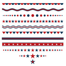 Red And Blue Dividers For Patr...
