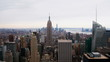 Timelapse Rockefeller Center Empire State Building Manhattan
