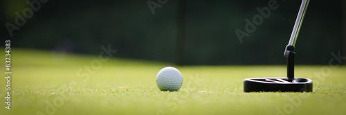 Fotografía putten im golfsport