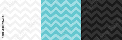 Photo seamless zig zag pattern vector background