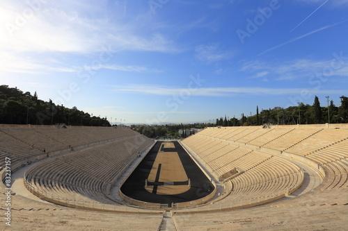 Staande foto Athene Panathenaic stadium at Athens, Greece