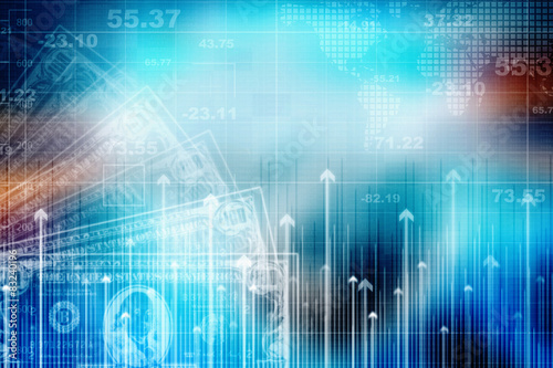 2d business graph background buy this stock illustration and