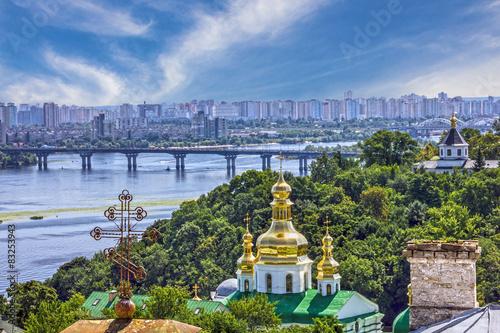 Keuken foto achterwand Temple Kiev city, Ukraine