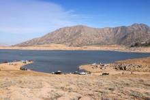 Low Level Lake In California - Isabella Lake