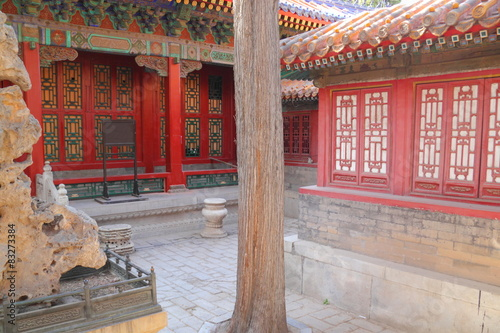 Foto op Aluminium Beijing Ancient chinese architecture (Beijing, China)