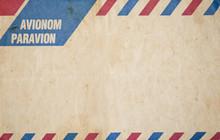 Air Mail Vintage Envelope