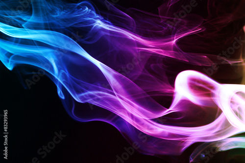 Abstract smoke Canvas-taulu