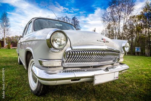 Vintage car GAZ M21 Volga Fototapet