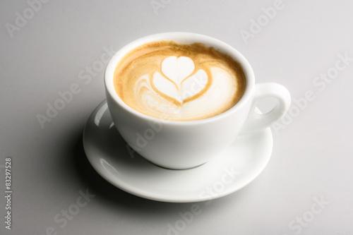 tazza di cappuccino Wallpaper Mural