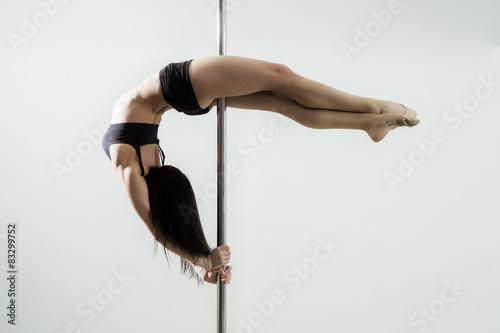 Fotografie, Obraz  Girl on the pole
