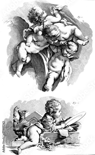 Photo Flying putti, Cherub