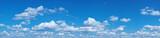 Fototapeta Na sufit - White heap clouds in the blue sky.