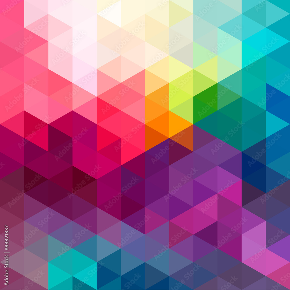 Fototapeta Abstract colorful seamless pattern background
