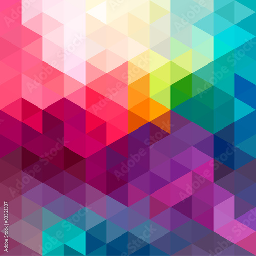 Abstract colorful seamless pattern background Плакат