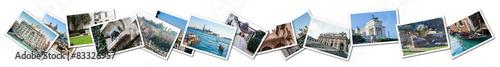 Gondoles Photo Collage Italy