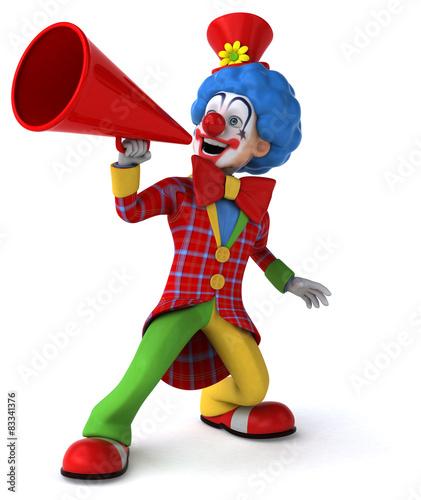 Carta da parati Fun clown