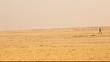 village poor Man in Desert Rajasthan India