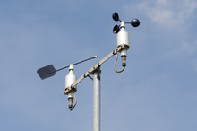 Weather Station With Anemometer