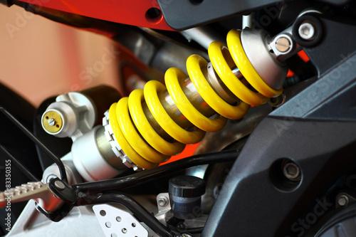 Obraz na plátně Motorcycle suspension