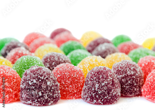 Canvas Prints Candy colourful jelly sweets
