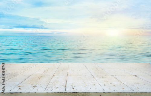 Summer background Wallpaper Mural
