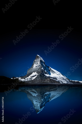 Photo Matterhorn bei Nacht