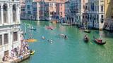 Zawody kajakarskie w Wenecji