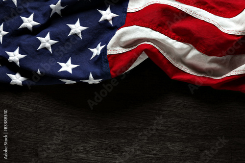 Fototapeta American flag for Memorial Day or 4th of July