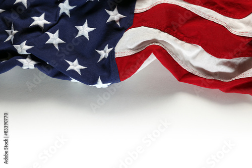 Fotografie, Obraz  American flag for Memorial Day or 4th of July