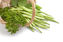 Green Beans And Salad