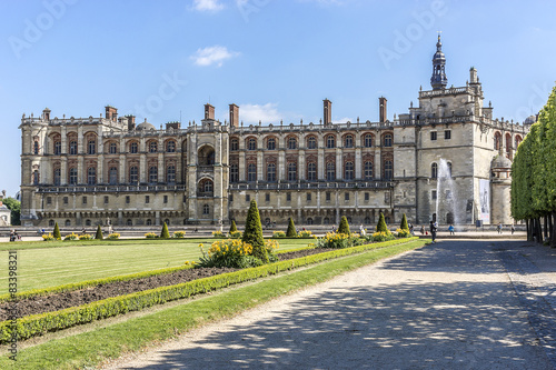 Montage in der Fensternische Schloss Chateau de Saint-Germain-en-Laye(National Museum of Archaeology)