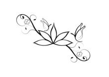 Tattoo Fiore Di Loto E Farfalle