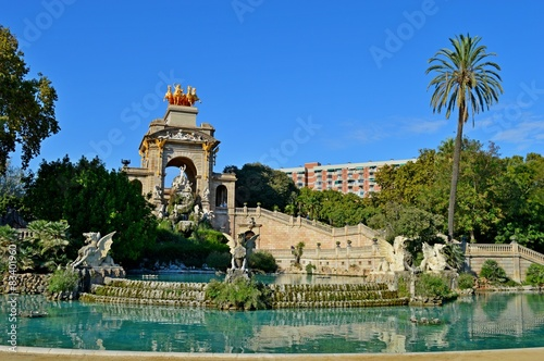 Papiers peints Barcelona Spain Barcelona Fountain