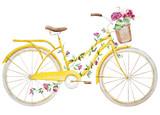 Rower rowerowy akwarela - 83407906