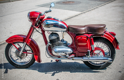 vintage-car-motocykl
