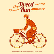 Tweed Run Retro Cycling Event ...