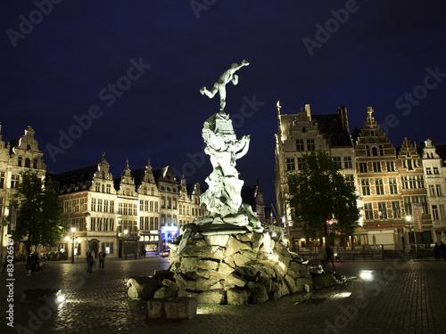 Tuinposter Antwerpen Hafenstadt Antwerpen