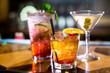 canvas print picture - Cocktails