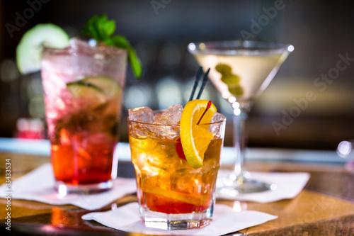 Fényképezés  Cocktails